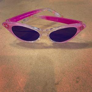 bfb2fec81742 Baby Girl s Pink Flower Sunglasses NWOT
